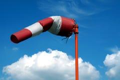 Indicador de direção do vento do aerômetro Fotos de Stock Royalty Free