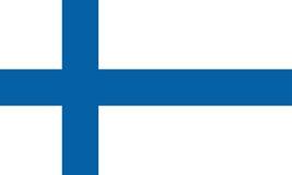 Indicador de Finlandia Fotos de archivo libres de regalías