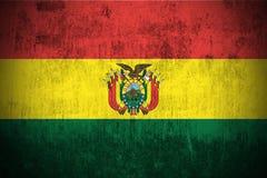 Indicador de Grunge de Bolivia Fotos de archivo libres de regalías