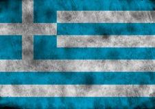Indicador de Grunge Grecia stock de ilustración