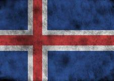 Indicador de Grunge Islandia ilustración del vector