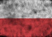 Indicador de Grunge Polonia ilustración del vector