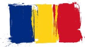 Indicador de Grunge Rumania stock de ilustración