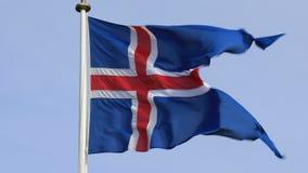 Indicador de Islandia almacen de metraje de vídeo