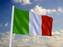 Indicador de Italia Imagen de archivo libre de regalías
