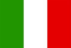 Indicador de Italia Fotos de archivo