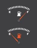 Indicador de la gasolina libre illustration