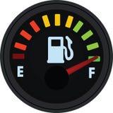 Indicador de la gasolina, el tanque lleno ilustración del vector