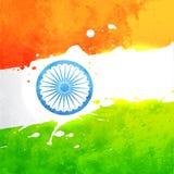Indicador de la India del vector Imagenes de archivo