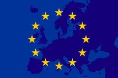 Indicador de la unión europea Fondo de Europa El Eu canta Vectror libre illustration
