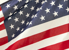 Indicador de las estrellas y de las rayas de Estados Unidos Imagen de archivo libre de regalías