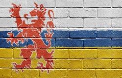 Indicador de Limburgo en la pared de ladrillo fotografía de archivo