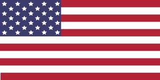 Indicador de los E Imagen del vector de la bandera de los E.E.U.U. El himno americano stock de ilustración