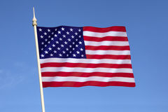 Indicador de los Estados Unidos de América Imagen de archivo libre de regalías