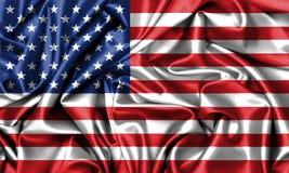 Indicador de los Estados Unidos de América Imágenes de archivo libres de regalías