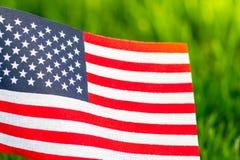 Indicador de los Estados Unidos Fondo de la hierba verde E imagen de archivo libre de regalías