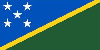 Indicador de los Solomon Island Fotografía de archivo