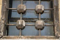 Indicador de madeira velho Fotografia de Stock