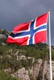 Indicador de Noruega Fotos de archivo libres de regalías