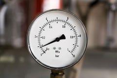 Indicador de presión Imagenes de archivo