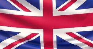 Indicador de Reino Unido Textura altamente detallada agitada de la tela 4K ilustración del vector