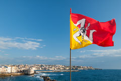 Indicador de Sicilia Imagen de archivo