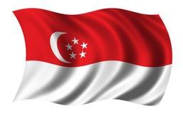 Indicador de Singapur ilustración del vector