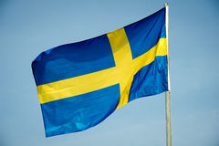Indicador de Suecia Imagenes de archivo
