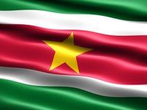 Indicador de Suriname stock de ilustración