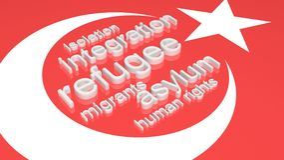 Indicador de Turquía Fotos de archivo libres de regalías