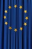 Indicador de unión europea Imagen de archivo libre de regalías