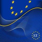 Indicador de unión europea. ilustración del vector