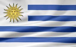 Indicador de Uruguay Imagenes de archivo