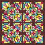 Indicador de vidro colorido 004 Fotos de Stock