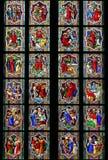 Indicador de vidro colorido Fotos de Stock Royalty Free