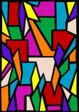 Indicador de vidro colorido Imagens de Stock Royalty Free