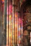 Indicador de vidro colorido Fotografia de Stock