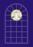 Indicador de vidro colorido Fotografia de Stock Royalty Free