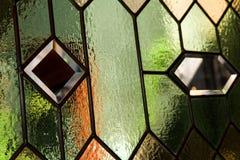 Indicador de vidro manchado Foto de Stock Royalty Free