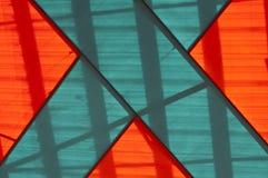 Indicador de vidro manchado Imagem de Stock