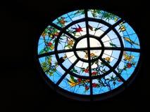 Indicador de vidro manchado Imagens de Stock Royalty Free