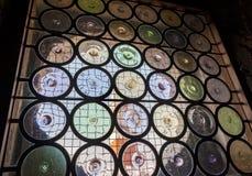 Indicador de vidro manchado 6 Imagem de Stock