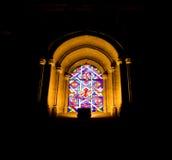 Indicador de vidro manchado na catedral de Mezquita Fotos de Stock