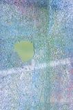 Indicador de vidro quebrado fotografia de stock