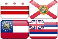 Indicador del estado: C.C., la Florida, Georgia, Hawaii libre illustration