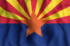 Indicador del estado de Arizona libre illustration