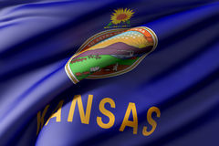 Indicador del estado de Kansas libre illustration