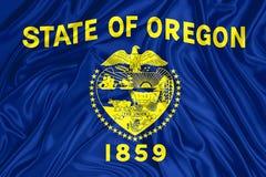 Indicador del estado de Oregon stock de ilustración