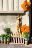 Indicador do jardim da mola Imagens de Stock Royalty Free
