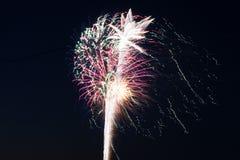 Indicador dos fogos-de-artifício Fotografia de Stock